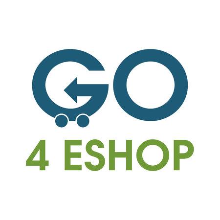 Go shopping vector icon design template. Illustration