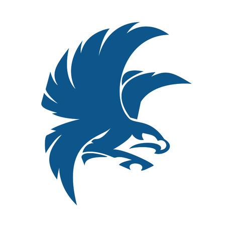 Eagle bird Logo abstract design vector business template.