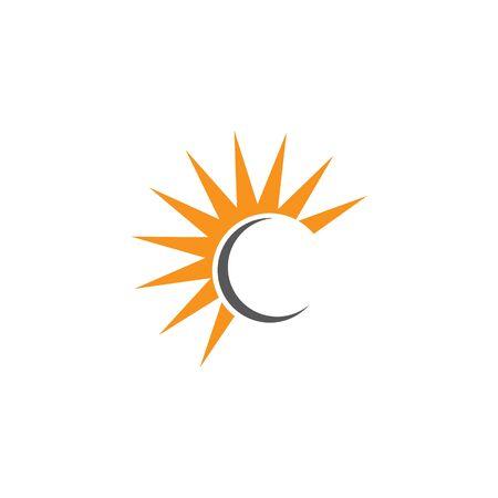 Letter c logo design template.