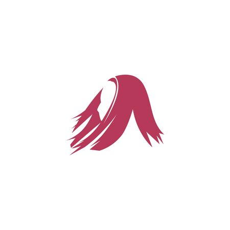Vector logo for woman salons and shops. Spa and massage center logo. 向量圖像