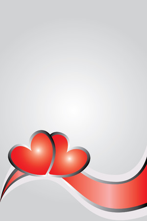 valentines day background Illustration