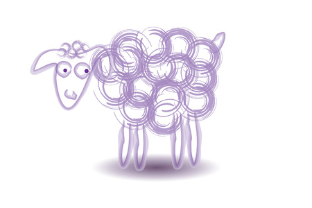 Sheep Vector Illustration Illustration