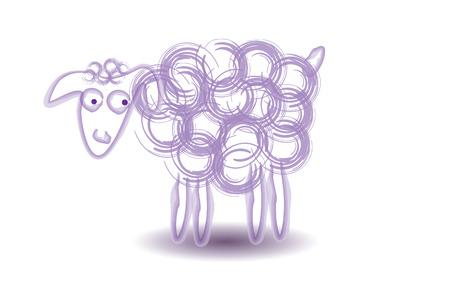 Sheep Vector Illustration Illustration