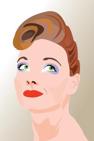 A glamorous woman