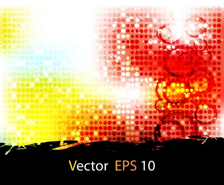 Vector set abstract background Stock Photo - 11515973