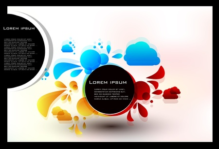 set abstract background Stock Vector - 11594956