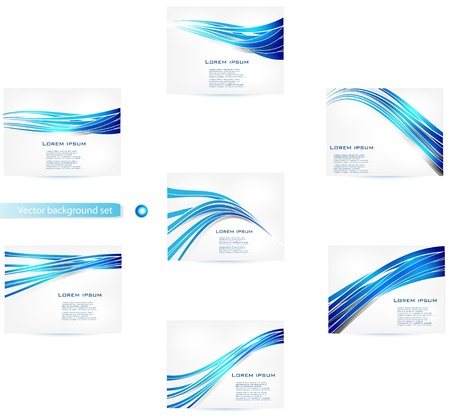 Straight lines abstract background  Blue Illustration