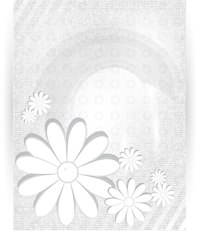 Vector chrysanthemum blue flower vector card  photo
