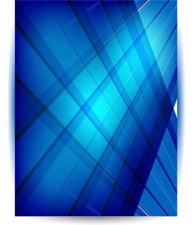 Abstract header blue vector illustration