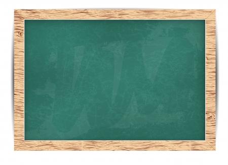 blackboard for your message  alphabet Vector