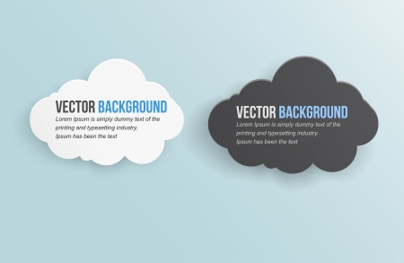 abstract background thunderstorm cloud  Vector