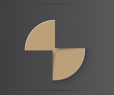 gray strip: Vector banner set . Colourful circle. Illustration