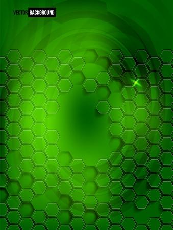 Vector abstract background Hexagon. Web Design Vector