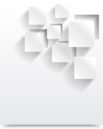 white boxes: Vector abstract background square. Web Design