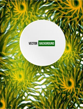 hash: Vector circle hash flower vector card. abstract Illustration