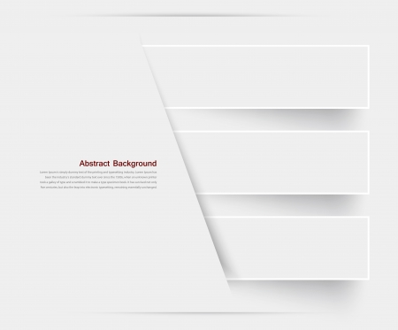 paper cut out: Vector banner background. White line