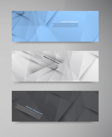 Vector abstract background. Origami geometric Illustration