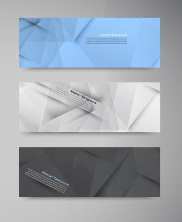 Vector abstract background. Origami geometric Illusztráció