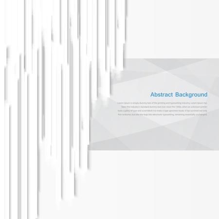 gray strip: Vector banner background  White line
