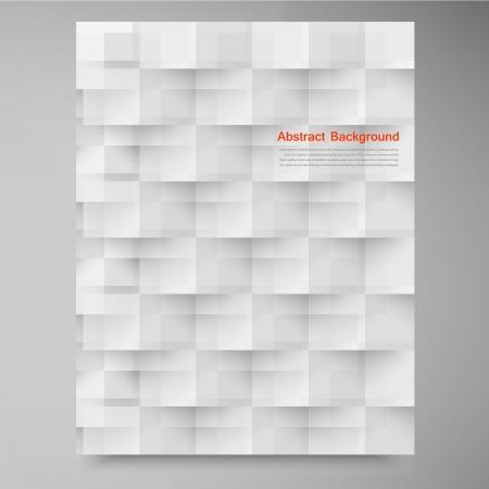 Vector witte vierkantjes. Abstracte backround