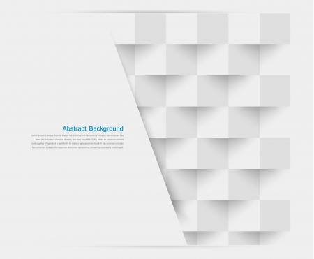 Blanco Vector cuadrados. Abstract backround Foto de archivo - 21946304
