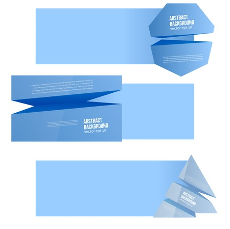 prism: Vector abstract background. Blue space for text.