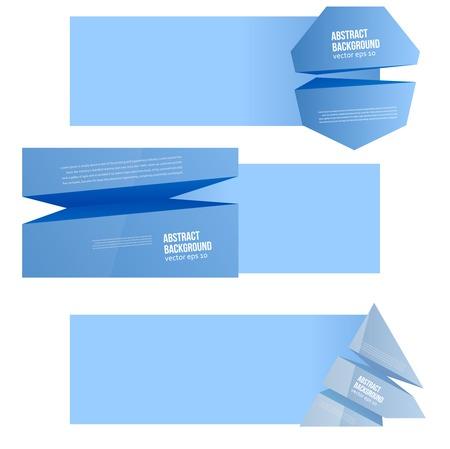 prisma: Vector de fondo abstracto. Azul del espacio para el texto. Vectores