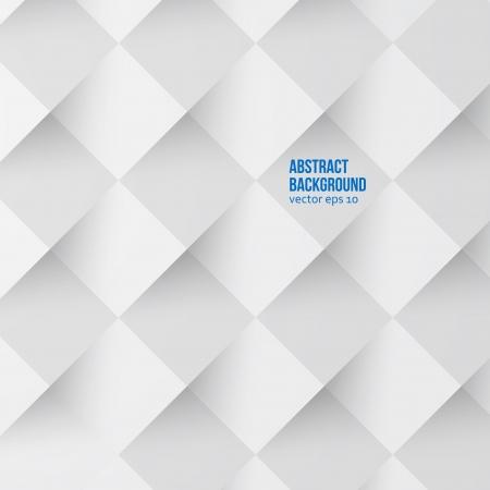 Vettore quadrati bianchi. Astratto e grigio backround Archivio Fotografico - 24753497