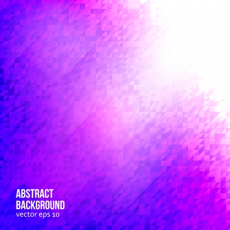 abstract background. triangle and pink geometric Vector