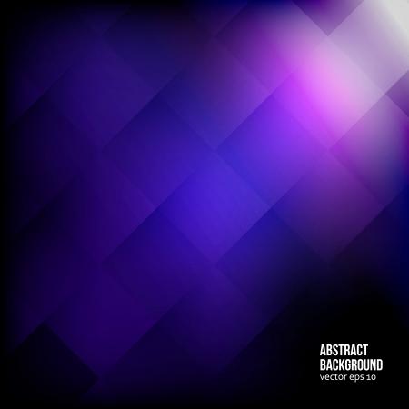 抽象的な背景。正方形と幾何学的な紫