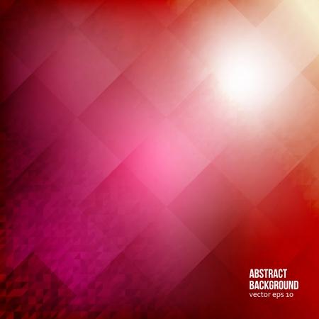 fondo cuadritos: resumen de antecedentes. Plazas y geom�trica roja
