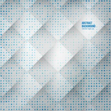 fondo cuadritos: Resumen de antecedentes. Cuadrados azules y sombras Vectores