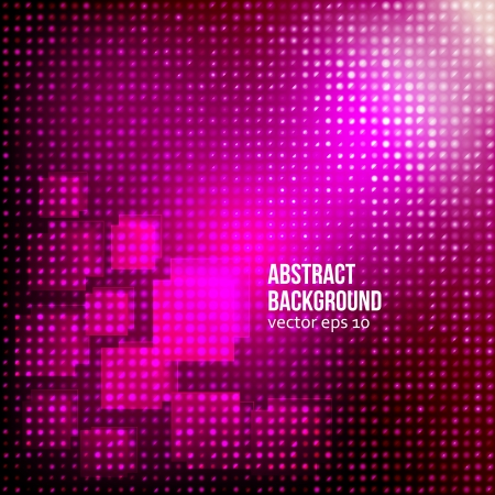 abstract background. Circle red and light Vector