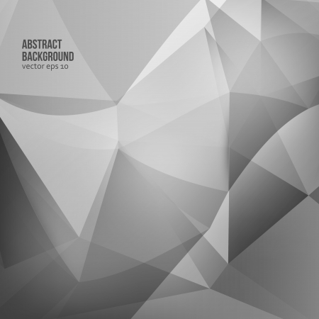 diamonds on black: Vector abstract background. Origami and color geometric Illustration