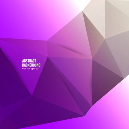 Vector abstract background. Origami and color geometric Vector