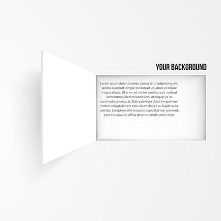 Vector background window banner. Texture and design Vector