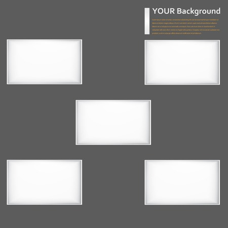 background window banner. Texture and design Vector