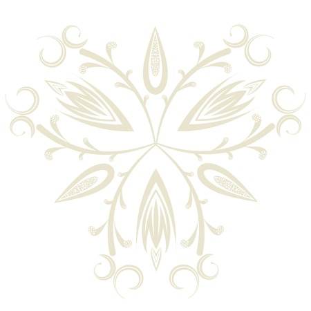 Elegant background with lace ornament .  Vector