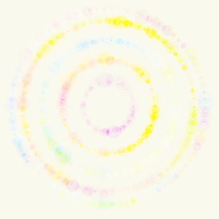 bubble pen: Vector background with colored dots. Circles  pattern