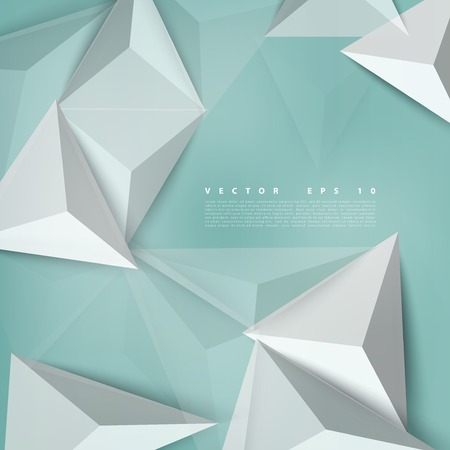 Vector background abstract polygon triangle. polygonal design geometrical Vector