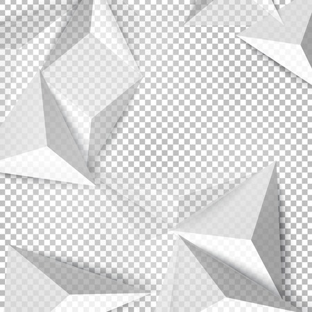 gray pattern: Vector background abstract polygon triangle. polygonal design geometrical Illustration