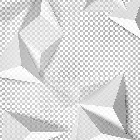 tri�ngulo: Vector de fondo abstracto tri�ngulo pol�gono. geom�trico dise�o poligonal