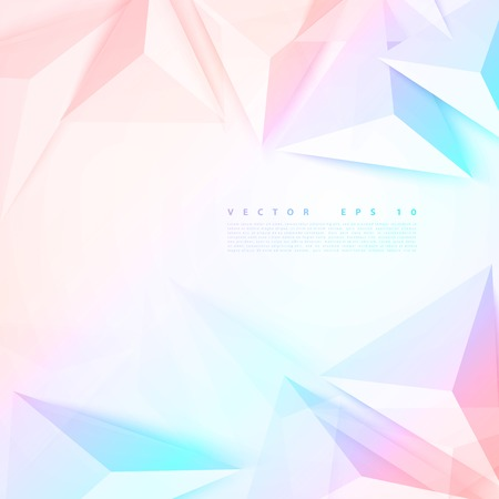 Vector background abstract polygon triangle. Stock Illustratie