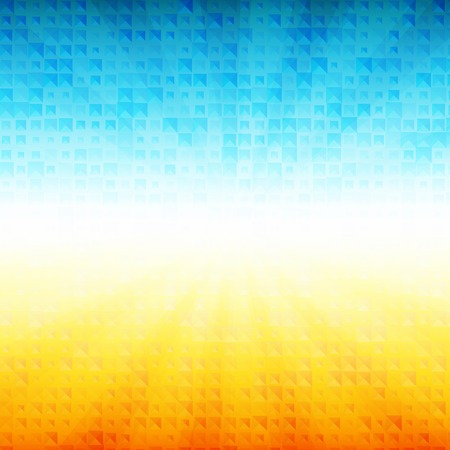 Vector Summer time background. Ilustrace