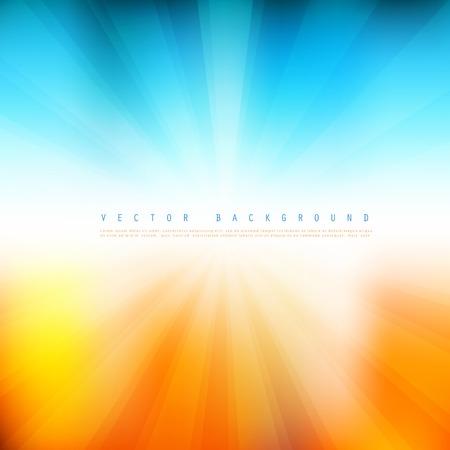 Vector Sommerzeit Hintergrund.