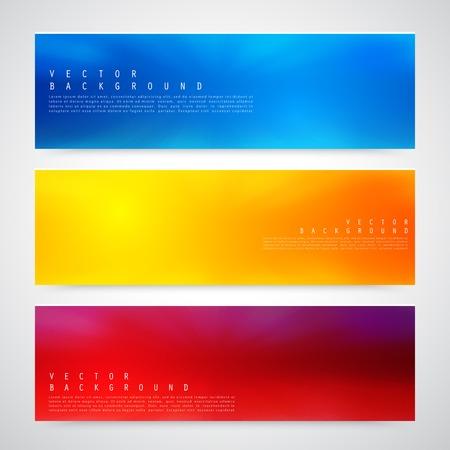 Flyer template header design.  イラスト・ベクター素材