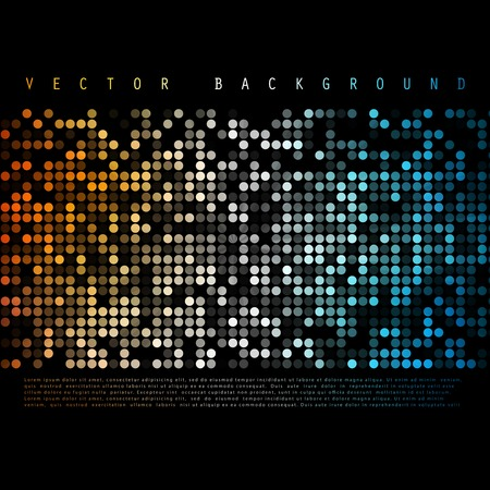 clubbing: Vector Abstract colorful background. Color Circle