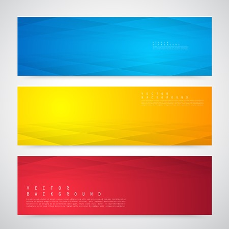 web banner: Vector Background with copy-space.