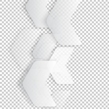 Vector Abstract geometric shape from gray