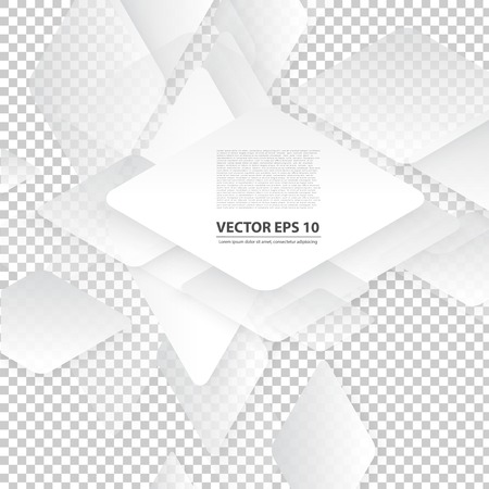 iterative: Vector design with rhombus on the grey Illustration